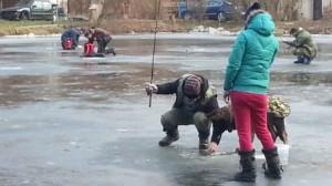 lov na dirkách - Zukalův rybník