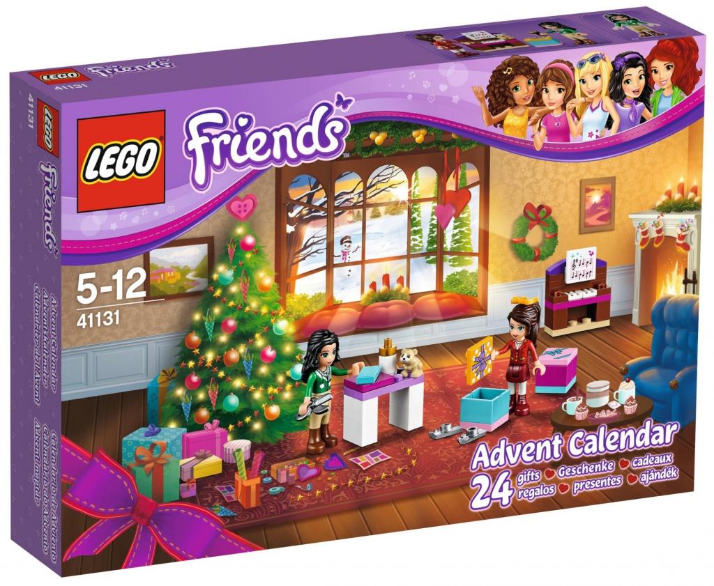 Adventní kalendář s hračkou pro děti