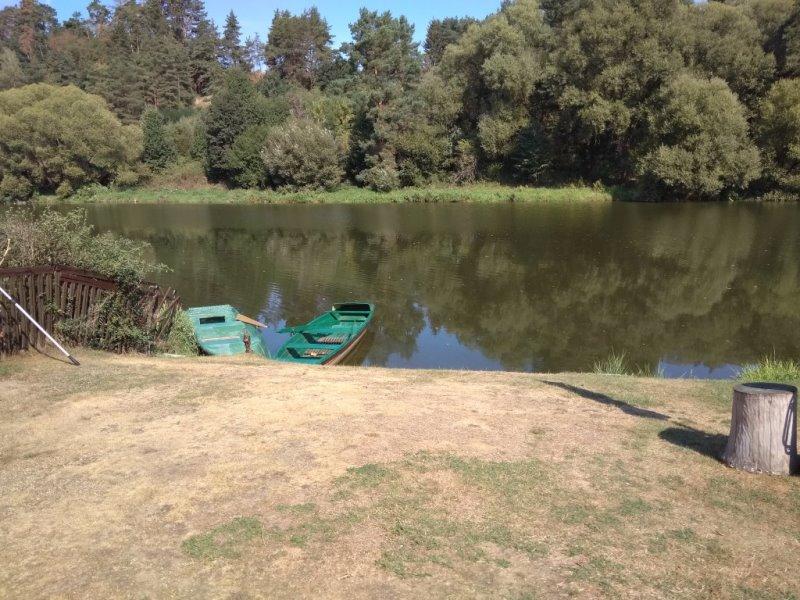Rybářská dovolená řeky Lužnice