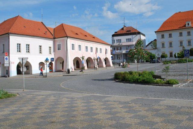 Náměstí Týn nad Vltavou