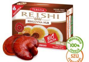 REISHI BIO je vhodný pro celiaky, vegetariány nebo vegany