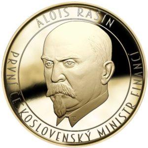 100. výročí vzniku československé měny - Rašínův dukát