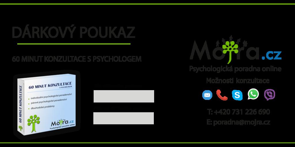 Dárkový poukaz na psychologické porady